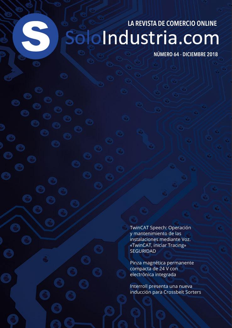 Portada Soloindustria | Noviembre 2018