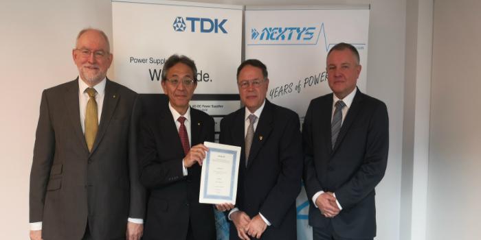 TDK-Lambda adquiere Nextys SA para ampliar su presencia en el mercado de fuentes de alimentación de carril DIN