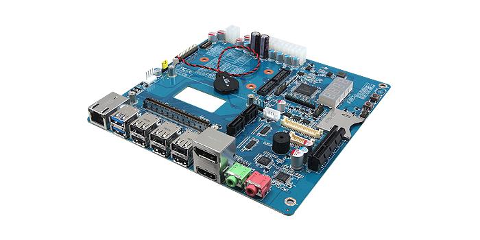 Ordenador en formato tarjeta COM Express Tipo 10 y tarjeta Carrier Mini ITX