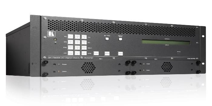 Kramer da a conocer en ISE 2019 la primera Matriz de audio con DSP y E/S intercambiables