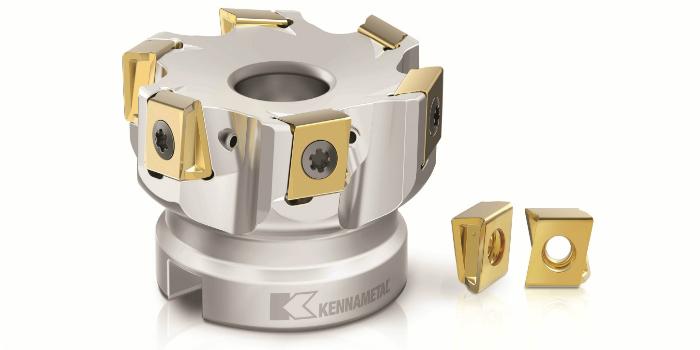 Kennametal presenta la Mill 4-12KT, la siguiente generación de fresas de escuadrado tangencial