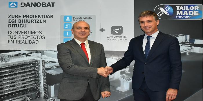 Lantek firma un acuerdo con DANOBATGROUP para que incorpore su software en sus líneas de corte láser de bobina de forma global