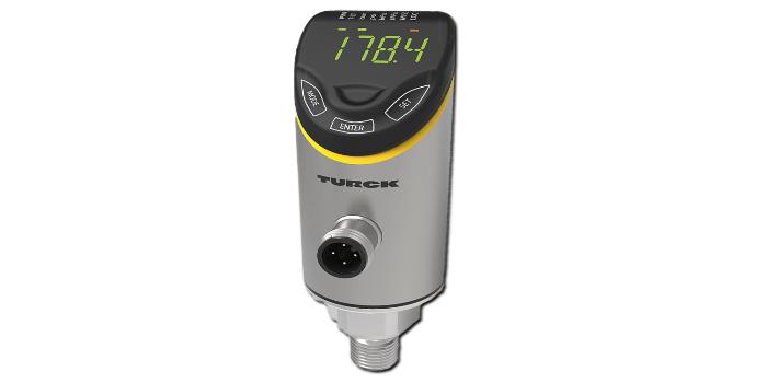 Turck lanza nuevos sensores de presión PS+ con paneles táctiles