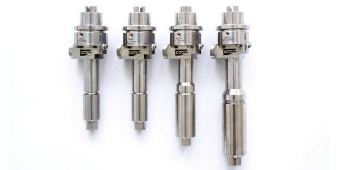 La gama de dosificadores RD de Viscotec garantizan una dosificación controlada y fiable tanto con productos de alta viscosidad, con cargas minerales o sensibles al cizallamiento.