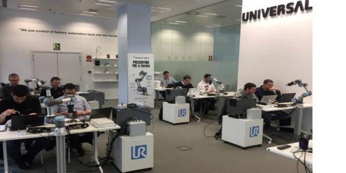 Universal Robots inaugura en Barcelona y Bilbao sus primeros centros de formación autorizados