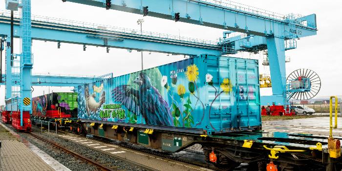 Transfesa Logistics participa en el acto final del Tren de Noé en Ámsterdam