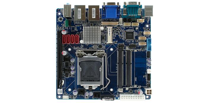 Placa madre industrial Mini ITX con Quad Gigabit LAN