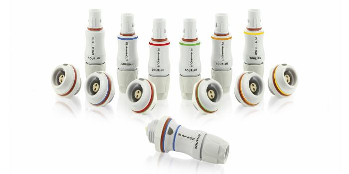 SOURIAU amplía su gama de conectores push-pull JMX para el mercado médico
