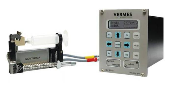 VERMES Sistema piezoeléctrico de dispensación