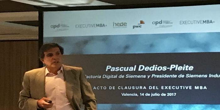 Siemens pide a la industria valenciana avanzar hacia la digitalización para asegurar su futuro