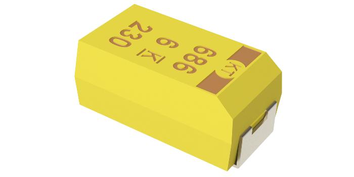 Condensador electrolítico de polímero COTS para aplicaciones de misión crítica