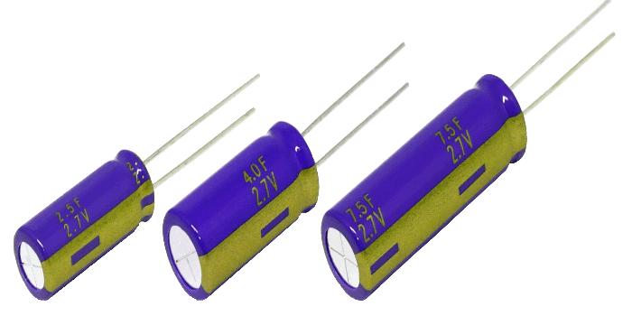 RS Components distribuye dos nuevas series de condensadores Panasonic de alta capacidad