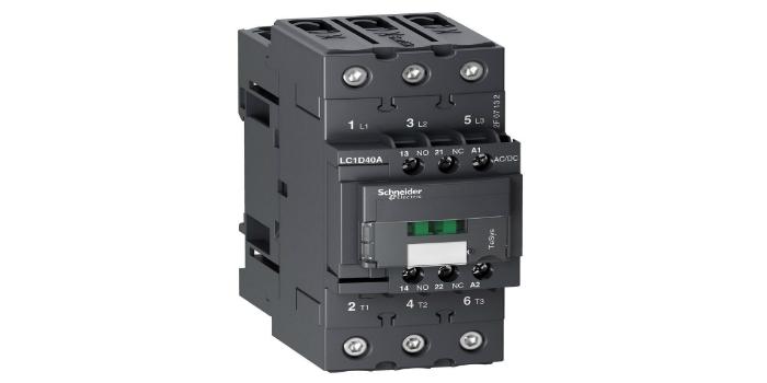RS Components presenta la serie de contactores Schneider con un menor consumo de energía en aplicaciones de control de maquinaria industrial y cuadros eléctricos