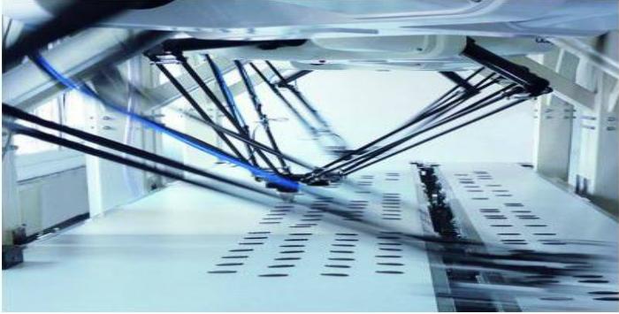Robots industriales.Medición de velocidad precisa con el LMSMA2x/3x