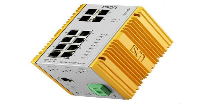 Switches gestionables PoE Layer 2/4 de doce puertos para aplicaciones industriales