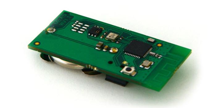 Etiqueta con sensores inalámbricos BLE