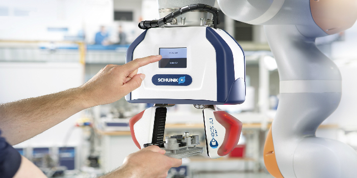 Uso de pinzas HRC con máquinas herramienta
