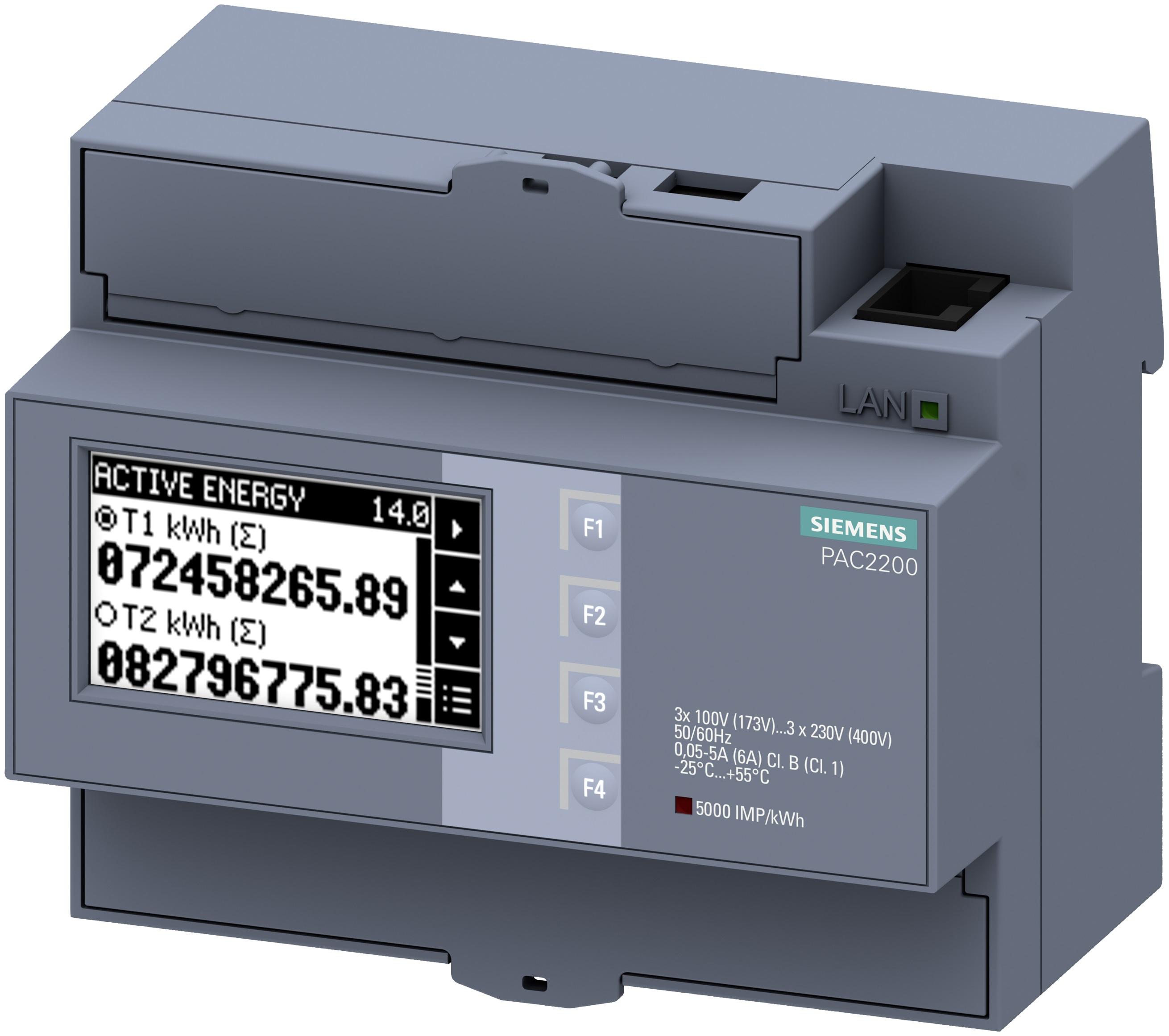 Siemens apuesta por la monitorización de energía compacta con 'SENTRON PAC2200'