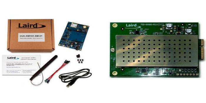 Sensores y Gateway LoraWan de Laird