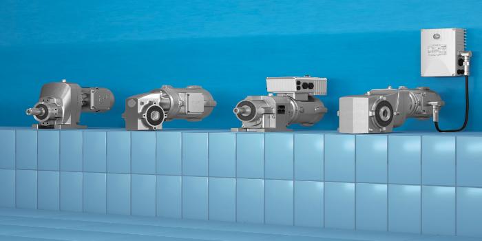 Altamente eficiente e higiênico: motores IE4 de superfície lisa