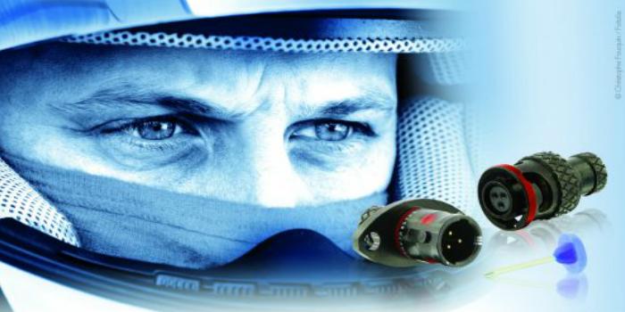 SOURIAU amplía su gama de conectores para el mundo del deporte de motor con el 8STA 01