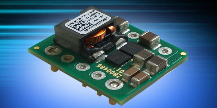 Convertidores DC-DC de 100 W con formato 1/32nd brick y amplio rango de ajuste de salida
