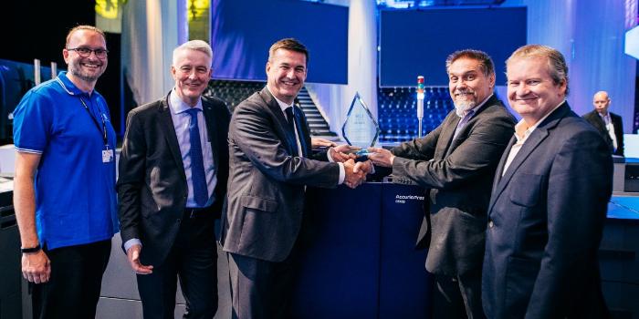 AccurioPress C6100 de Konica Minolta gana un premio internacional