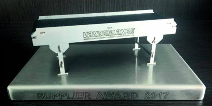 NORD gana el premio al proveedor de Vanderlande