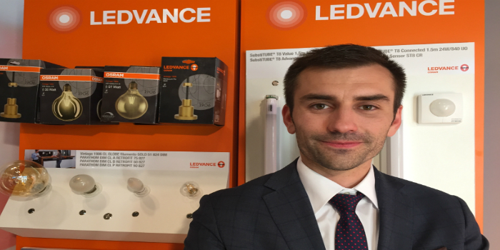 Alberto Casado, nuevo director de marketing de LEDVANCE para España y Portugal