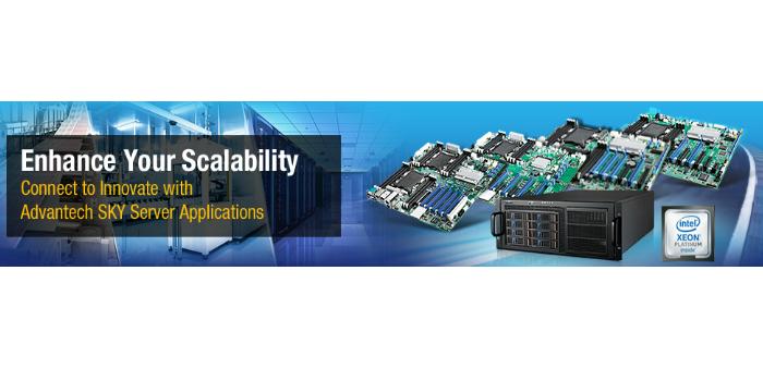Advantech presenta la serie completa ASMB de placas Intel® Xeon® Scalable para servidores