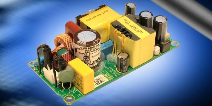 Fuentes de alimentación de Clase I o II con diseño sin ventilador y temperatura operativa de hasta +80°C