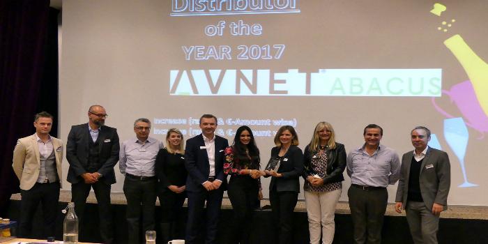 """Avnet Abacus, nombrado """"Distribuidor Broadline del Año 2017"""" de Panasonic"""