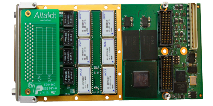 Tarjeta XMC de hasta diez canales para redes militares MIL-STD-1553