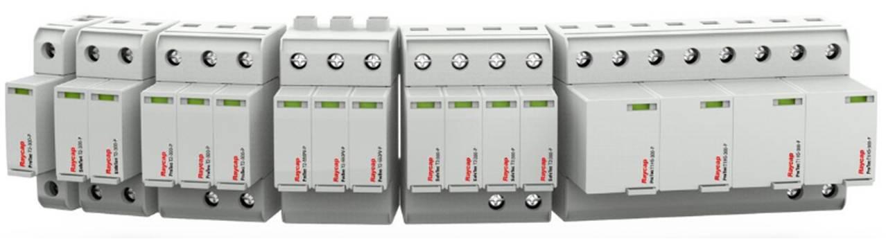 Raycap presenta una nueva línea de protectores contra sobretensiones en formato carril DIN