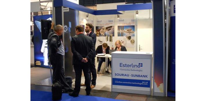 Esterline Connection Technologies – SOURIAU y SUNBANK estuvo presente en la feria Space Tech Expo Europe 2017 celebrada del 24 al 26 de octubre en Bremen, Alemania.