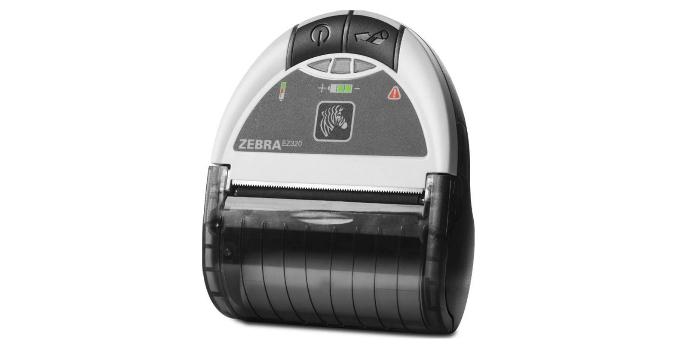 Impresora portátil de recibos y tiques con conectividad Bluetooth®