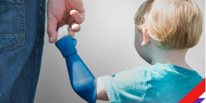 RS apoya a una innovadora start-up para llevar la tecnología de extremidades biónicas a bebés y niños pequeños