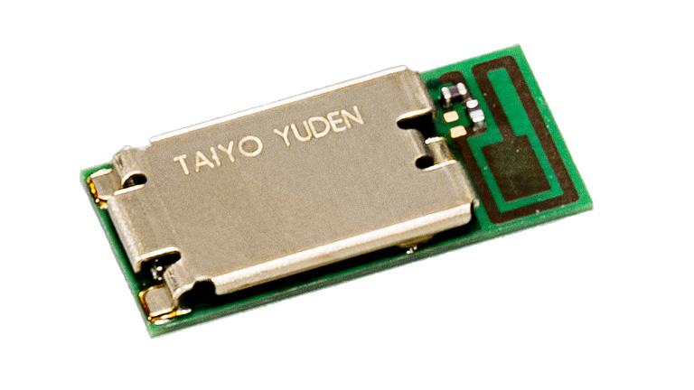 Módulo Bluetooth® 5.0 con reloj de sistema y antena
