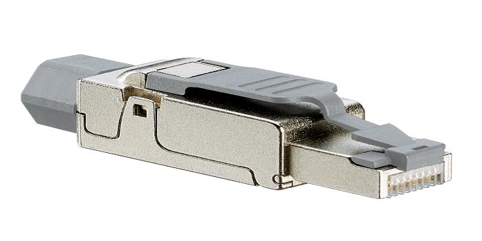 Conector apantallado Cat 6A universal