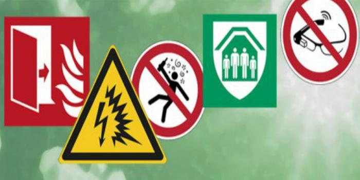 10 nuevas señales de seguridad ISO 7010 en materiales duraderos
