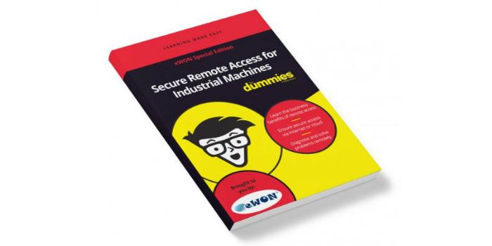 """Nuevo libro: Acceso remoto seguro a máquinas industriales para tontos (""""Secure Remote Access for Industrial Machines for Dummies"""")"""