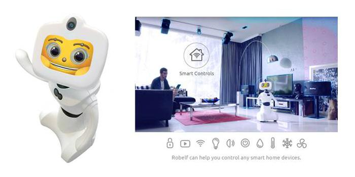 Robelf, el robot doméstico que aspira a convertirse en un nuevo miembro de la familia