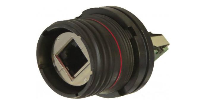 """Amphenol Socapex amplía su gama de conectores robustos RJ Field y USB Field con dos nuevas versiones """"Reduced Flange"""" de RJF TV6 y USB3F TV para aplicaciones en espacios reducidos"""