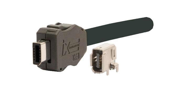 RS anuncia a disponibilidade de interface Ethernet industrial compacta e de elevado desempenho da Hirose