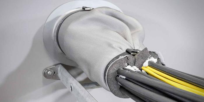 Nuevo cortafuegos Roxtec para paquetes de cables en aplicaciones marinas