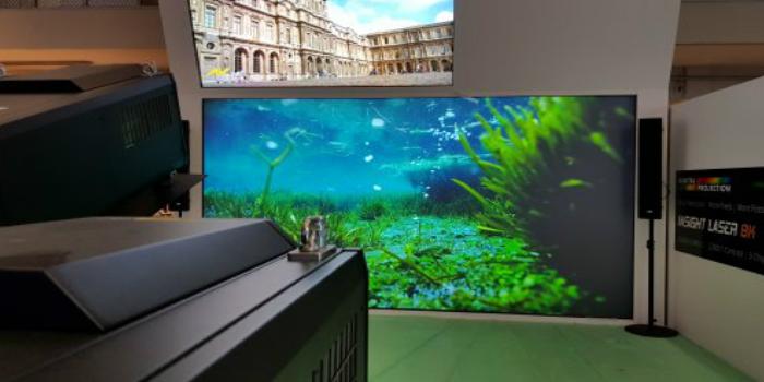 Las tecnologías de próxima generación de Delta alumbrarán el primer proyector de 25 000 lúmenes y 8K del mundo en la feria ISE 2018