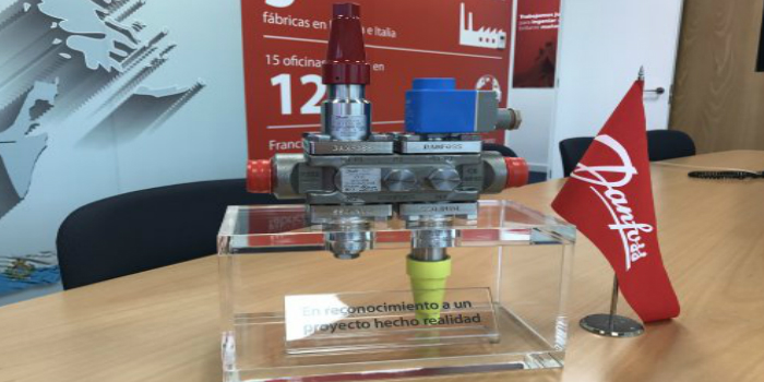 Danfoss premia a Pecomark por la venta de 1000 válvulas ICF