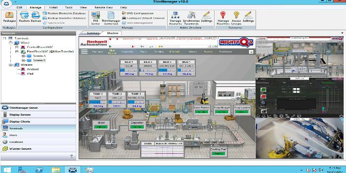 La nueva versión del software ThinManager mejora la productividad del operador