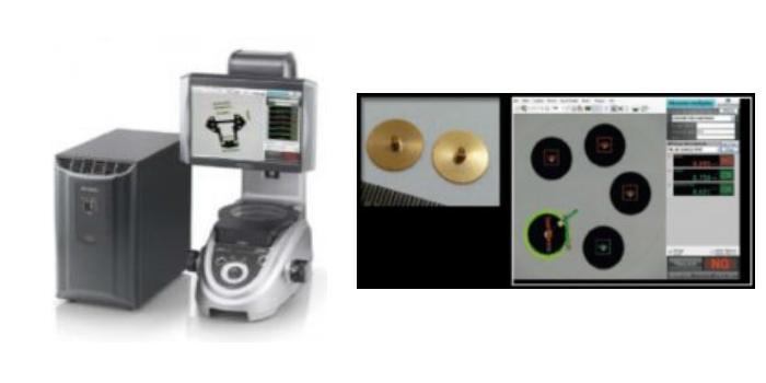 El proyector de perfiles digital simplifica las inspecciones en Timex