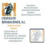 CHAPALCOY REPARACIONES, S.L.